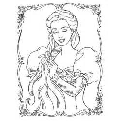 Dessin De Princesse A Colorier Gratuit Az Coloriage