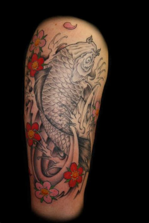 29 magnificent koi sleeve tattoos designs