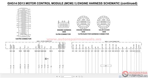 ddec v wiring diagram engine detroit diesel diagram