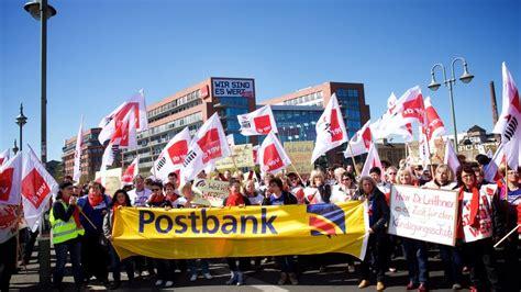 tarifvertrag banken ver di tarifrunde postbank 2017