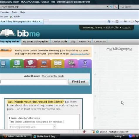 Creating A Bibliography by Creating A Bibliography With Bibme Org