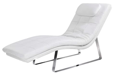 Modern Indoor Chaise Lounge White Chaise Lounge Indoor Style Gilda Chaise Lounge White Indoor Chaise Lounges At Hayneedle