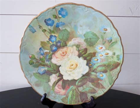 Decoupage Plates With Photos - decoupage plates with their master classes and 50