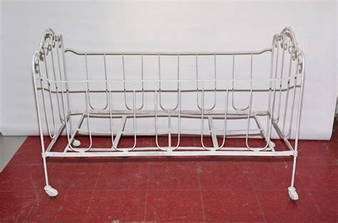Iron Baby Crib For Sale Iron Baby Crib Or Doggie Bed For Sale At 1stdibs