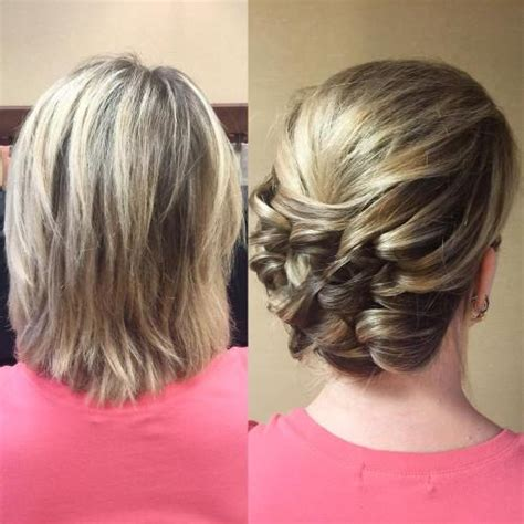 bob hairstyles updo 50 hottest prom hairstyles for short hair