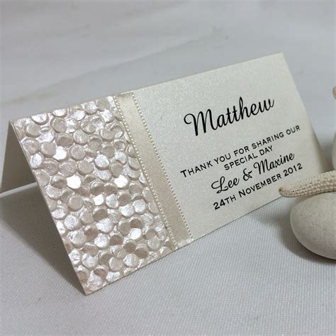 place cards wedding place cards beach theme