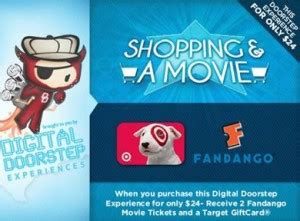 Fandango Gift Card Costco - still available 24 for two fandango tickets valued at 24 10 target gift card