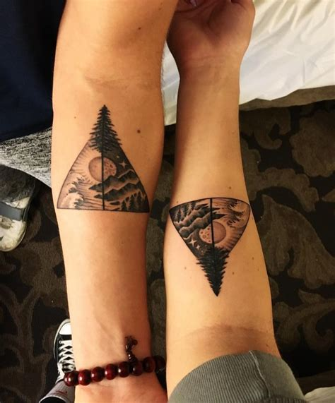 brother and sister matching tattoos designs ideas and