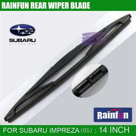 repair windshield wipe control 2005 subaru impreza user handbook rainfun dedicated rear wiper blade for subaru impreza 05 14 quot rear wiper blade for subaru