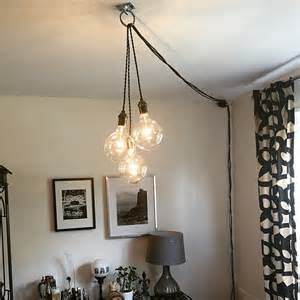 Chandelier That Plugs Into An Outlet Unique Chandelier In Modern Hanging Pendant L