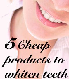teeth whitening products   affordable  haves