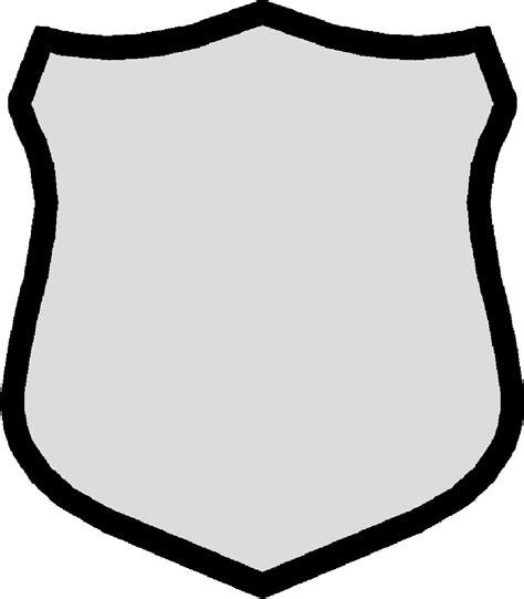 blank shield shape clipart best