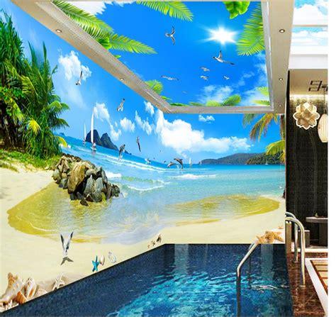 aliexpress desktop view photo wall mural wall decoration maldives seaview coconut