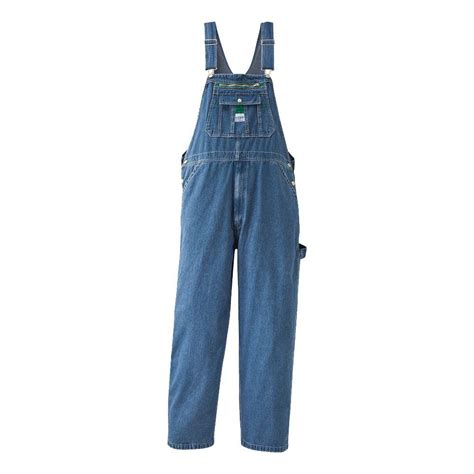 home depot paint coveralls liberty 56 in x 30 in stonewashed denim bib overall