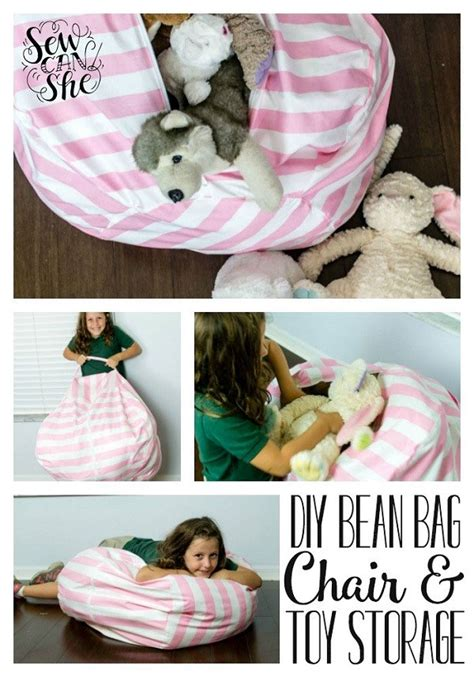 stuffed animal bean bag storage pattern tutorial bean bag chair with stuffed animal storage sewing