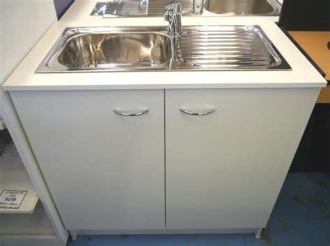 kitchen cabinet with sink seytim builders kitchen sink mixer cabinet white 900mm