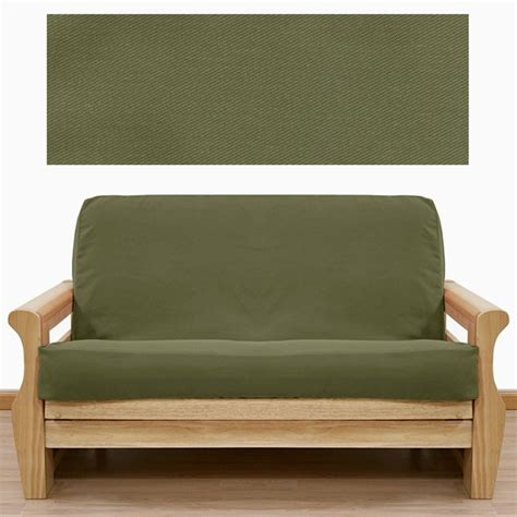 twill futon cover twill solid olive futon cover buy from manufacturer and