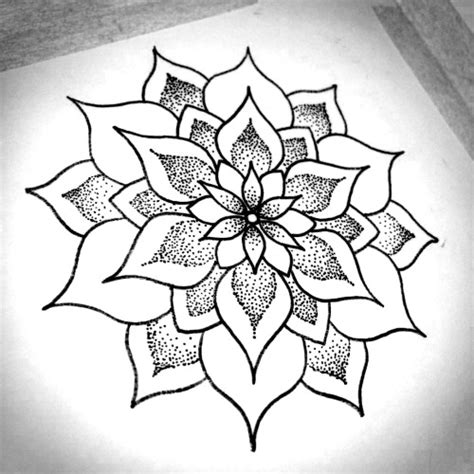tattoo easy sketch mandala design by apprentice rebekka rekkless at adorned