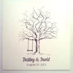 tree signing for wedding 15 best images about tree on trees fingerprints and print