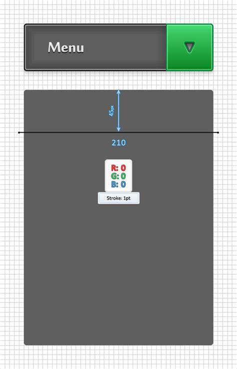 yii2 tutorial drop down adobe illustrator tutorial create a simple drop down menu