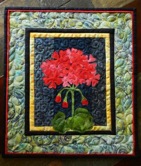 Quilted Wall by Geranium Quilted Wall Hanging Batik Quilt Batik