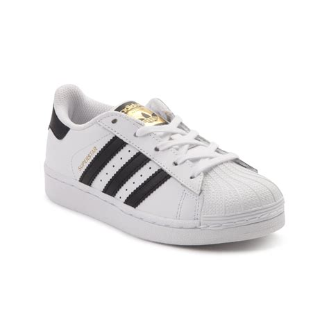 youth adidas superstar athletic shoe white 1436351