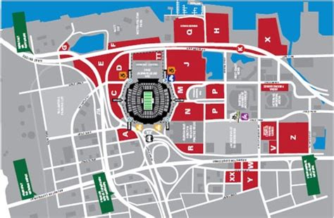 everbank field map map of everbank field tailgaters parking pictures to pin on pinsdaddy
