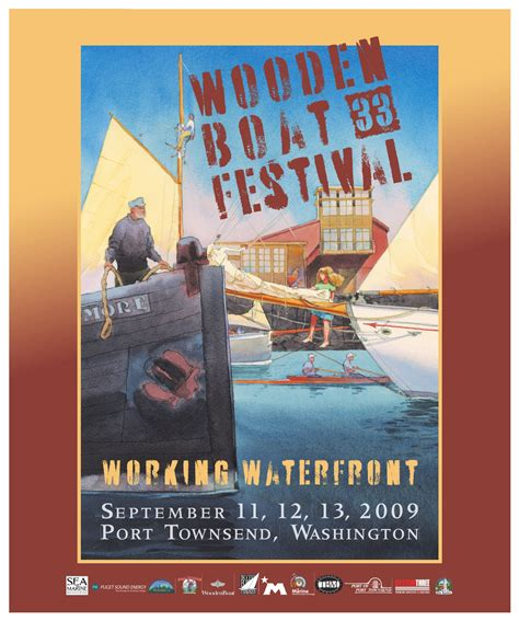 port townsend wooden boat festival schedule 33rd wooden boat festival 2009 by wooden boat foundation