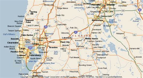 lakeland florida map map of lakeland
