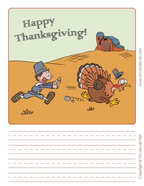 printable thanksgiving writing paper templates