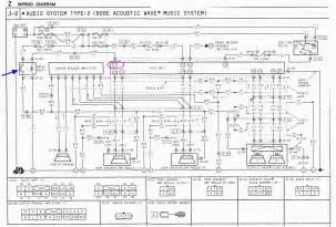 bose mercedes r129 amplifier pinout bose wiring diagram free