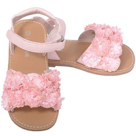 Sandal Darlingen Flower l amour pink sparkle flower summer sandal