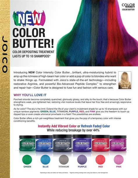 butter color joico color butter purple used on hair with faded