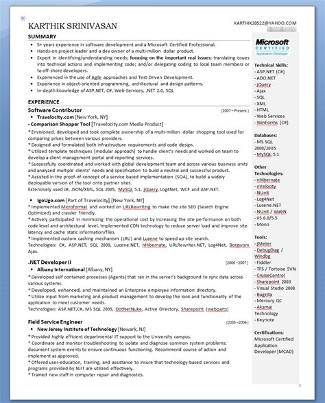 second career resume exles karthik s evolution of my resume karthik srinivasan