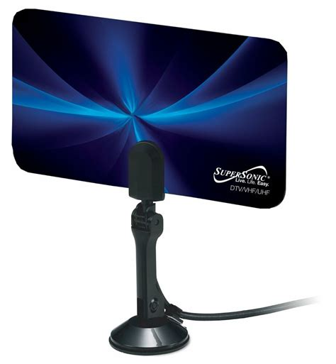 supersonic hd hdtv the air digital signal tv set top antenna antena new ebay