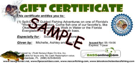 fishing gift certificate template fishing gift certificate template fishing trip gift