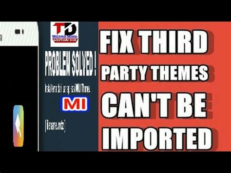 miui themes problem miui 3rd party download themes error problem fixed