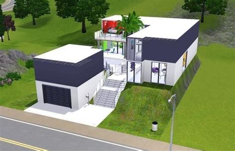 sims 3 modern house floor plans house plans and design modern house plans for sims 3