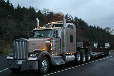 kenworth heavy haul trucks for sale kenworth w900l 4 axle oversize heavy haul tractor scs