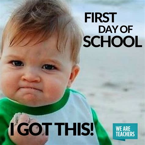 First Day Of Class Meme - 27 hilarious back to school memes for teachers