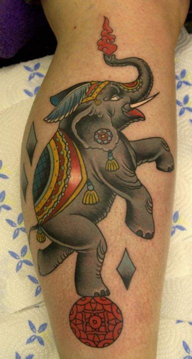 circus elephant tattoo best 25 circus elephant tattoos ideas on