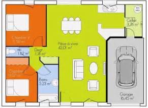 plan 2 chambres plain pied gratuit