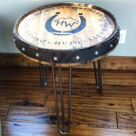 high west whiskey whiskey barrel table and barrel table