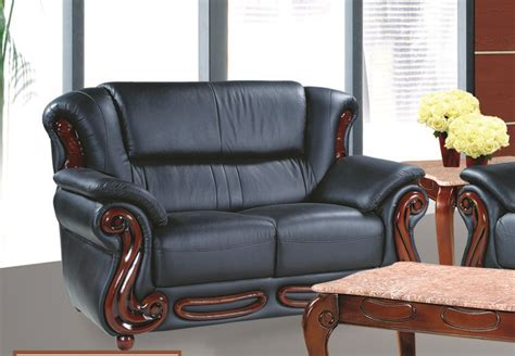 black cherry leather sofa black traditional leather sofa loveseat set with