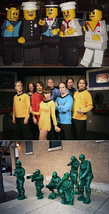 cool  creative group costume ideas geeks  love
