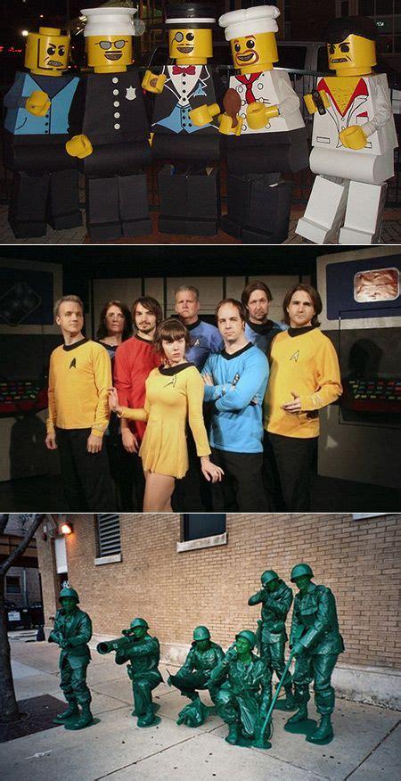 cool  creative group costume ideas geeks  love