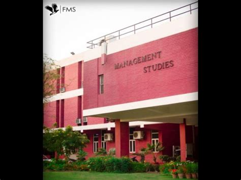 Fms Executive Mba Evening Class Timings by Fms Delhi Accepts Cat 2014 Score For Mba
