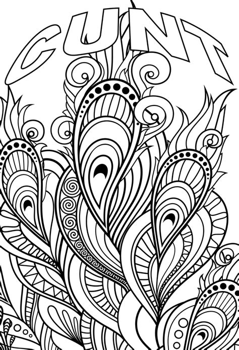 swear word coloring pages pdf swear word pictures coloring lovers