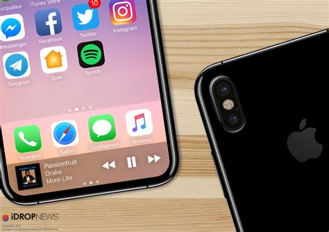 new iphone 8 leak points to an invisible the display