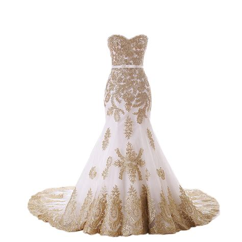 Wedding Dresses And Prices by Compare Prices On Gold And White Mermaid Wedding Dress